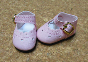 Doll Shoes 47mm RED Heart Cut for Bitty Bethany