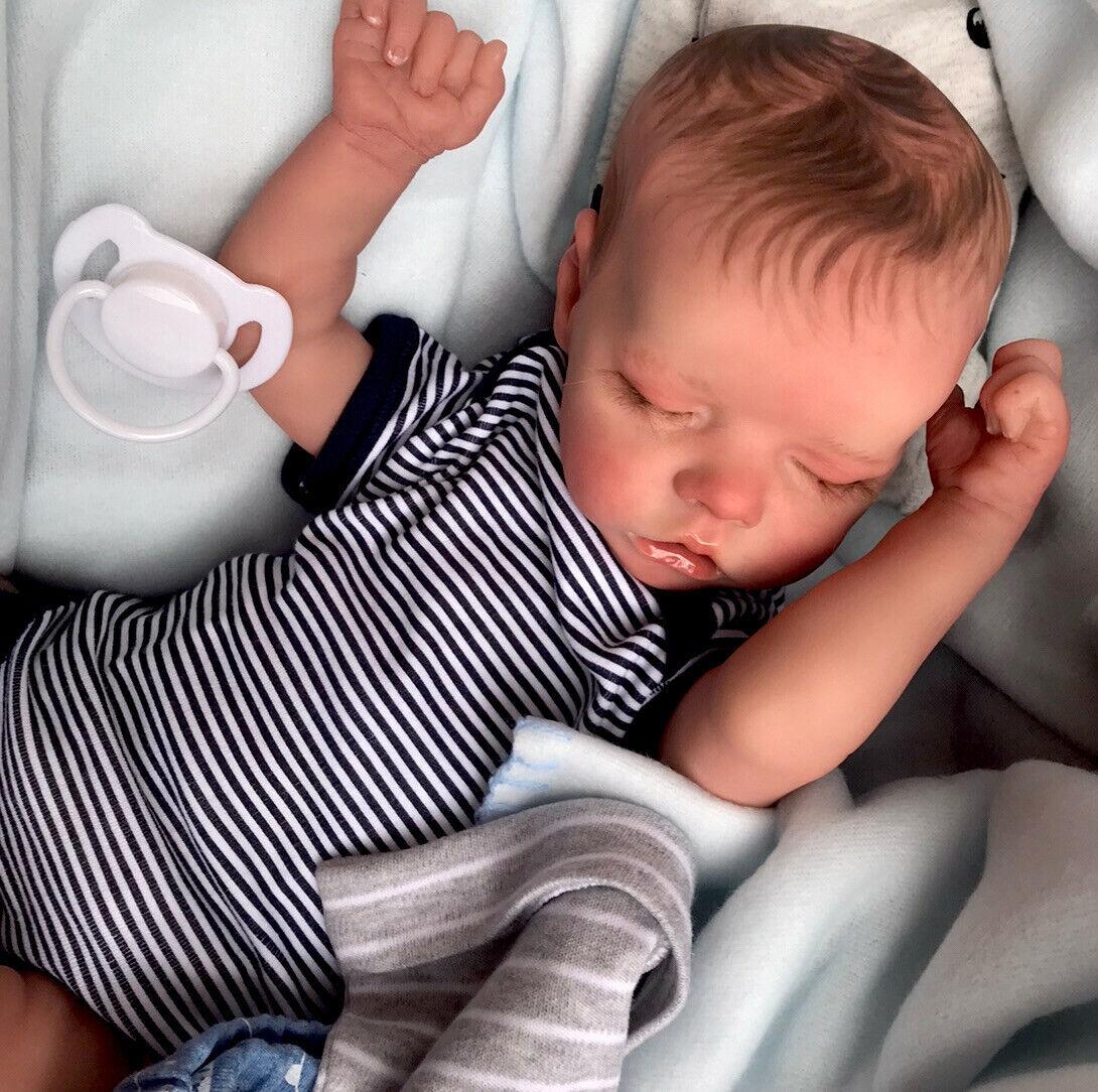Beautiful SLEEPING Reborn baby doll...Archie