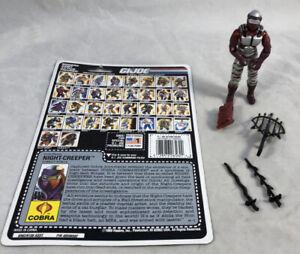 GI-Joe-1990-Night-Creeper-V1-100-Complete-w-Uncut-Card-Hasbro-ARAH-Vintage