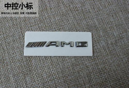 Car New Style-AMG-Interior Multimedia Decal Sticker Badge Decoration Emblem Logo