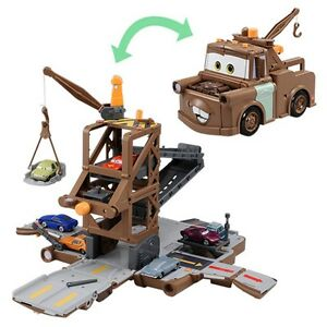 Cars Disney Pixar Mater Transformable Mater Playset Takara Tomy Oil Rig Escape