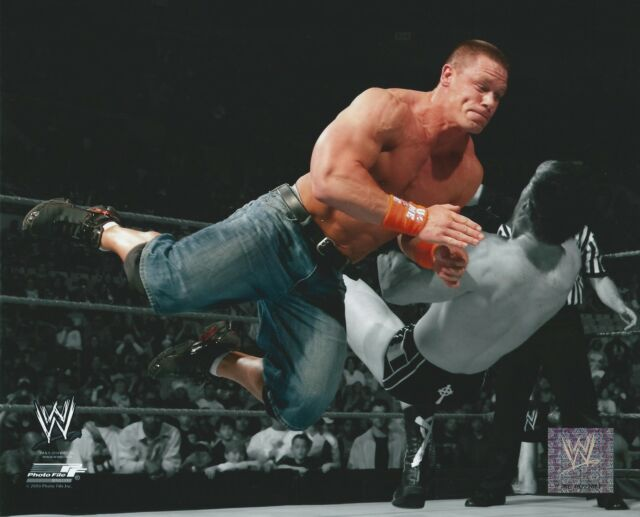 JOHN CENA WWE SPOTLIGHT WRESTLING LICENSED PHOTO #10 NEW