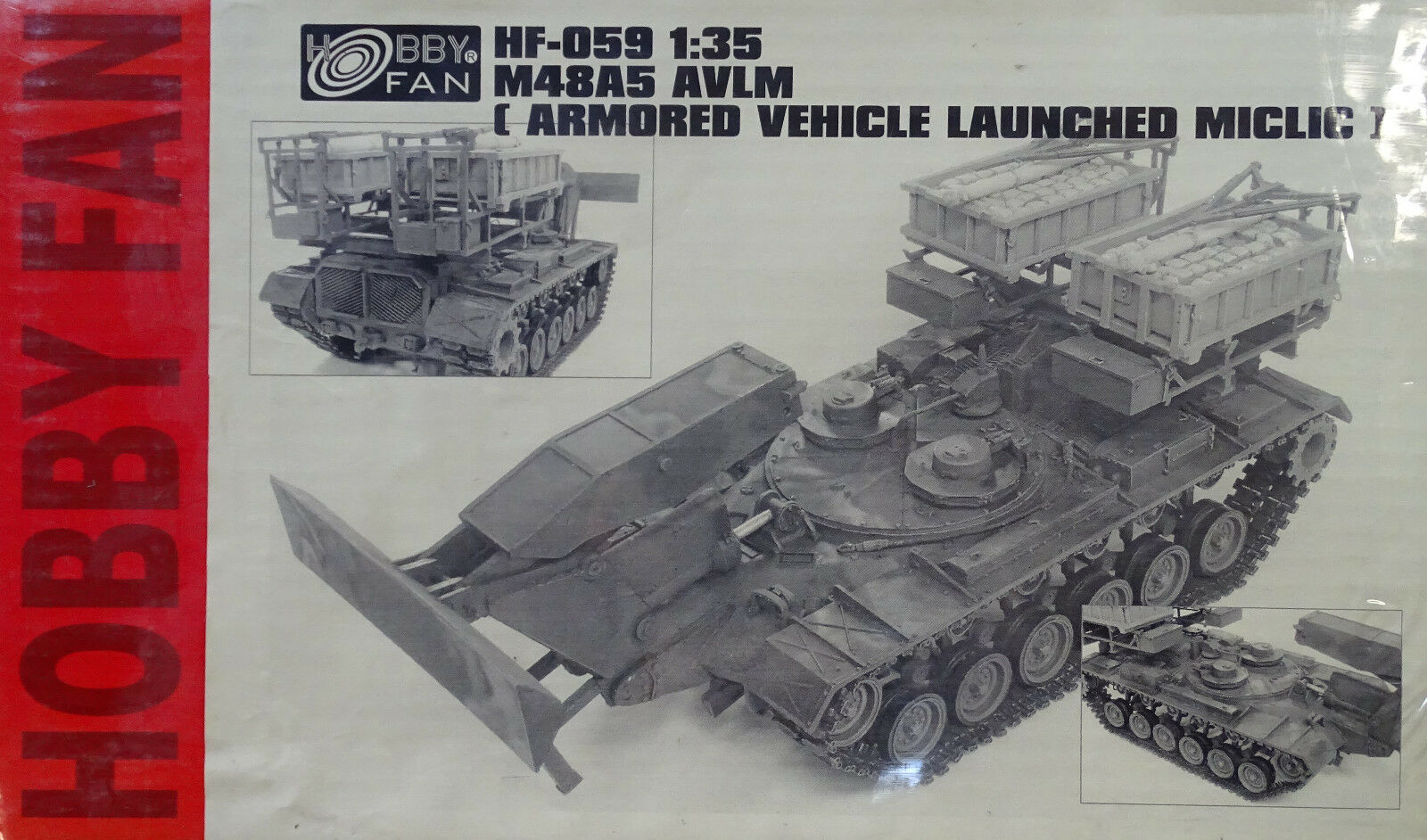 HOBBY FAN® HF059 M48A5 AVLM ArmGoldt Vehicle Launched MICLIC in 1 35  | Sonderpreis