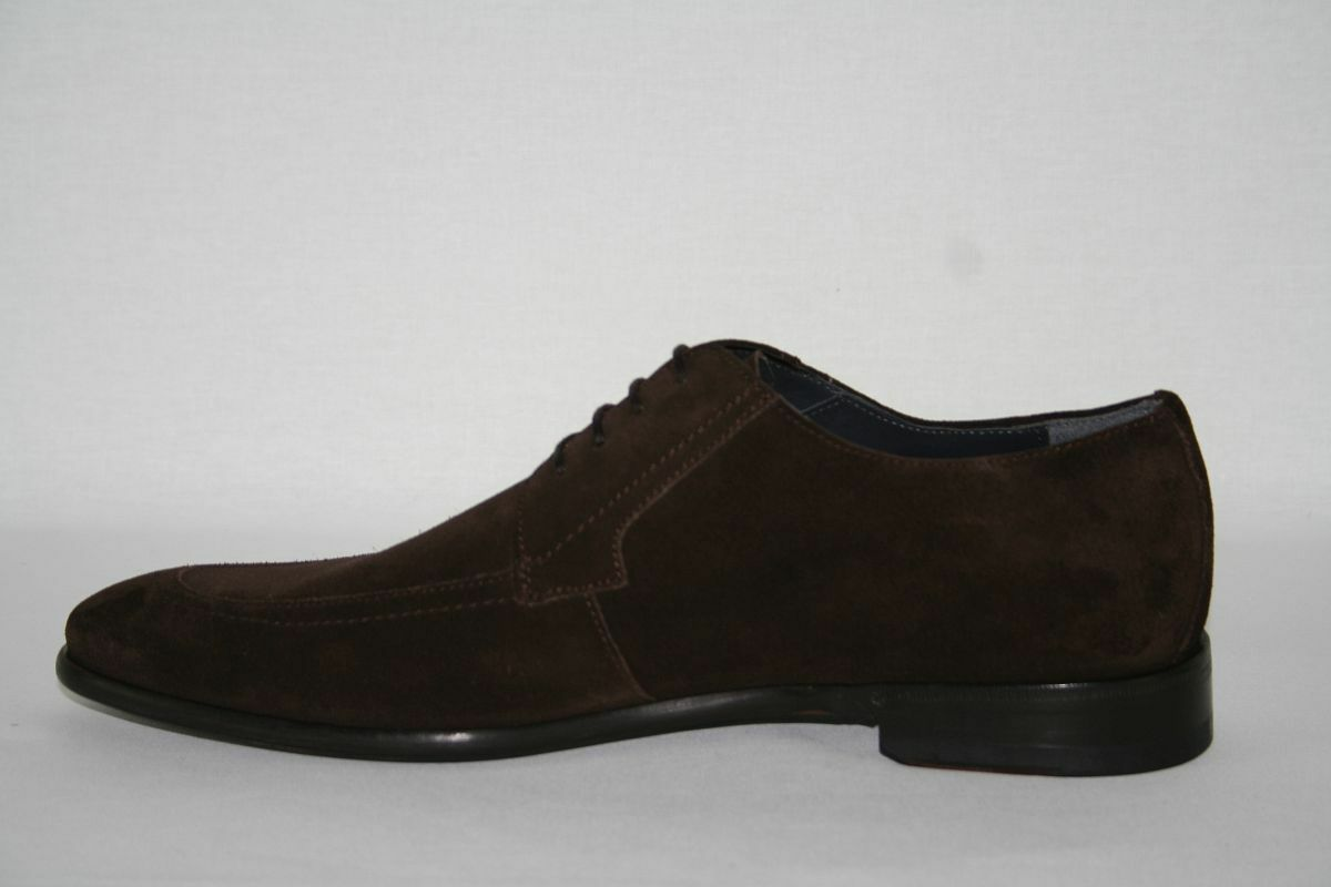 Hugo Boss Business zapatos, mod. pradots-X, Talla EU 42 UK 8 us 9, dark marrón