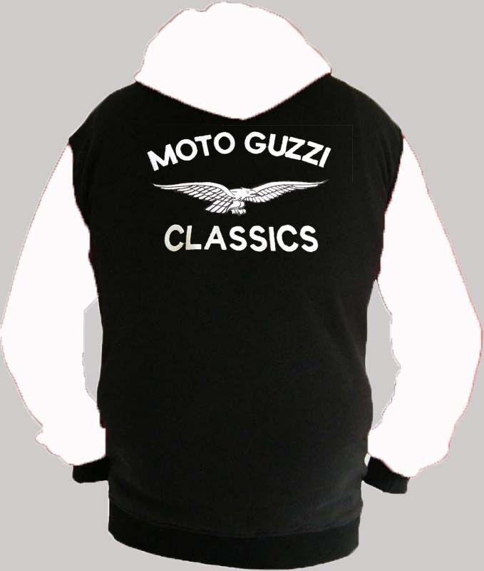 Moto Guzzi Classics Fan Kapuzenjacke Hoodie Lieferz. siehe Beschreibung