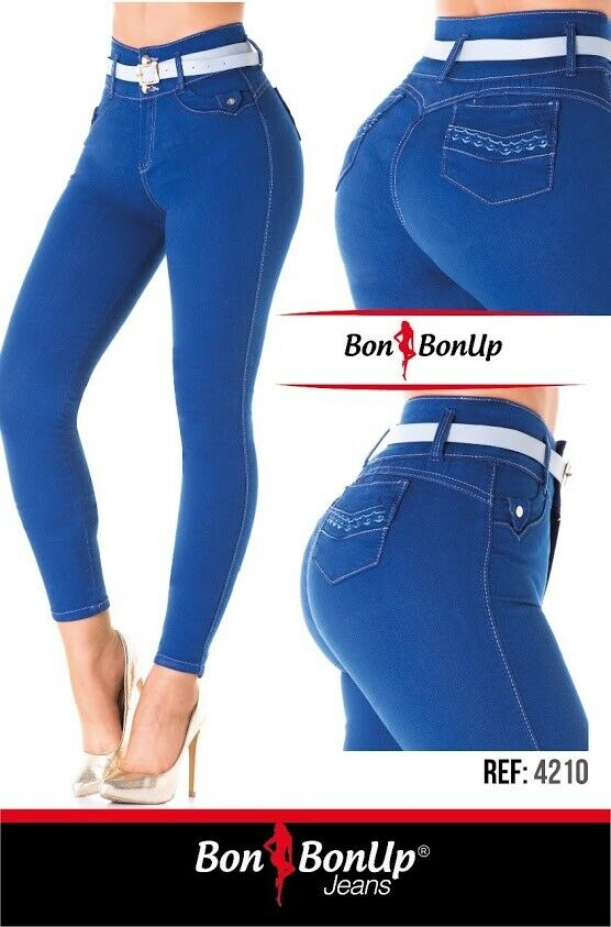 Jeans colombianos butt lifter fajas colombianas levanta cola Bon Bon Up 4210