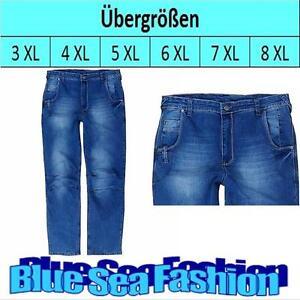 LAVECCHIA Übergröße Denim stone washed stoneblue Jeans Hose Jeanshose Größe 50