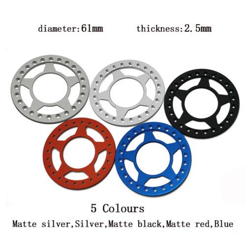 "4Pcs Alloy Replacement Wheel Beadlock Ring for 1:10 RC 2.2/"" Wheel Rim 5 Star"