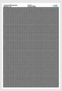 1:87//H0 0750 Pflasterstein//Ziegelstein,UV Druck auf Polystyrol,145x100mm