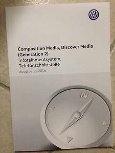 VW COMPOSITION MEDIA / DISCOVER MEDIA (Generation 2) 2017 Betriebsanleitung 17 - Auerbach, Deutschland - VW COMPOSITION MEDIA / DISCOVER MEDIA (Generation 2) 2017 Betriebsanleitung 17 - Auerbach, Deutschland