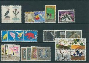 Liechtenstein-Vintage-Yearset-1994-Neuf-MNH-Complet-Plus-Sh-Boutique