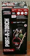 Lincoln Electric Kh990 Port A Torch Kit With Oxygen Amp Acetylene Tanks