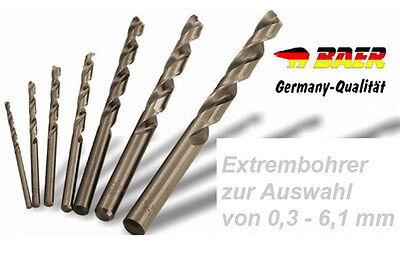 Spiralbohrer Bohrer Edelstahlbohrer Metallbohrer zur Auswahl  6.3-20 mm