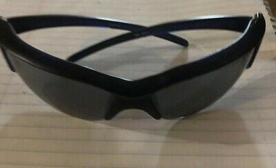 Sun Glasses  Gray Lens Blk Frame Free Ship Impact  Safety 3M  ForceFlex  Z87