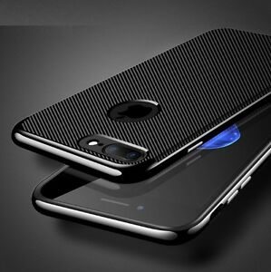 COVER-CUSTODIA-ORIGINALE-FEEL-CARBON-Hybrid-Armor-per-Apple-iPhone-6-7-8-Plus
