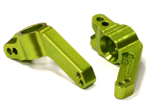 2 for 1//10 Stampede 4X4 /& Slash 4X4 RC Car T8630GREEN Machined T2 R Hub Carrier