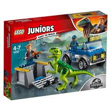 LEGO JUNIORS Jurassic World 10757 Raptoren Rettungstransporter Rescue N6//18