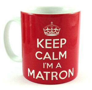 NEW-KEEP-CALM-I-039-M-A-MATRON-GIFT-MUG-CUP-AND-CARRY-ON-COOL-BRITANNIA-RETRO-NURSE
