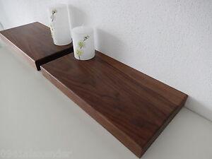 Wandboard-Nussbaum-Massiv-Holz-Board-Regal-Steckboard-Regalbrett-NEU-au-auf-Mass