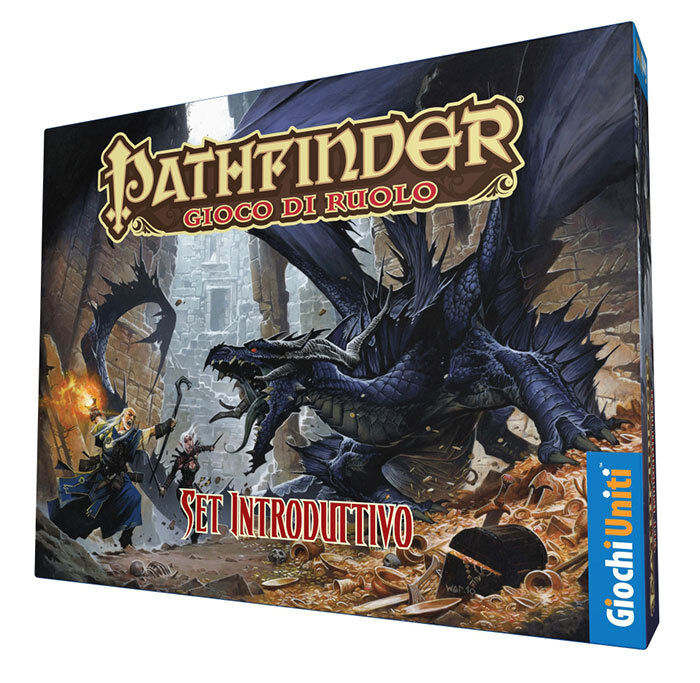 Pathfinder, Set Handout, Game Role, New by Games United Edition Italian