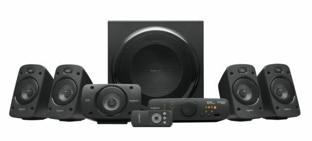 Logitech Z8 THX 8.8 Surround Sound Speakers - Black