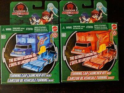 Turning Mecard Turning Car Launcher Kit Red & Blue Launcher Brand New | eBay