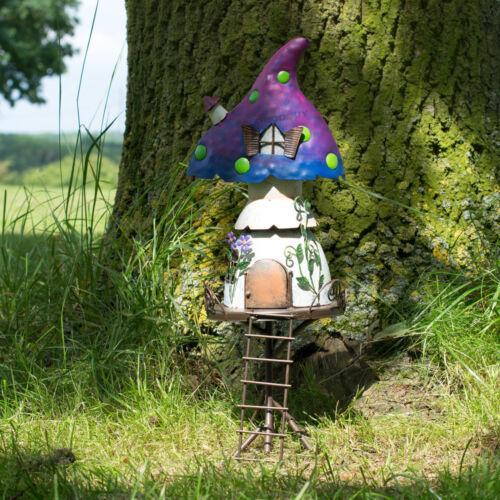 Magic Fairy Garden Tree House Decoration Metal Outdoor Garden Patio Ornament