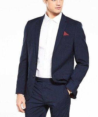 Responsabile River Island Apollo Slim Suit Giacca Taglia 44r-