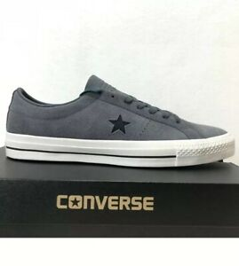 f2d644c3918b Converse One Star Pro Ox Low Top Gray Suede Atomic Men s Shoes Size ...