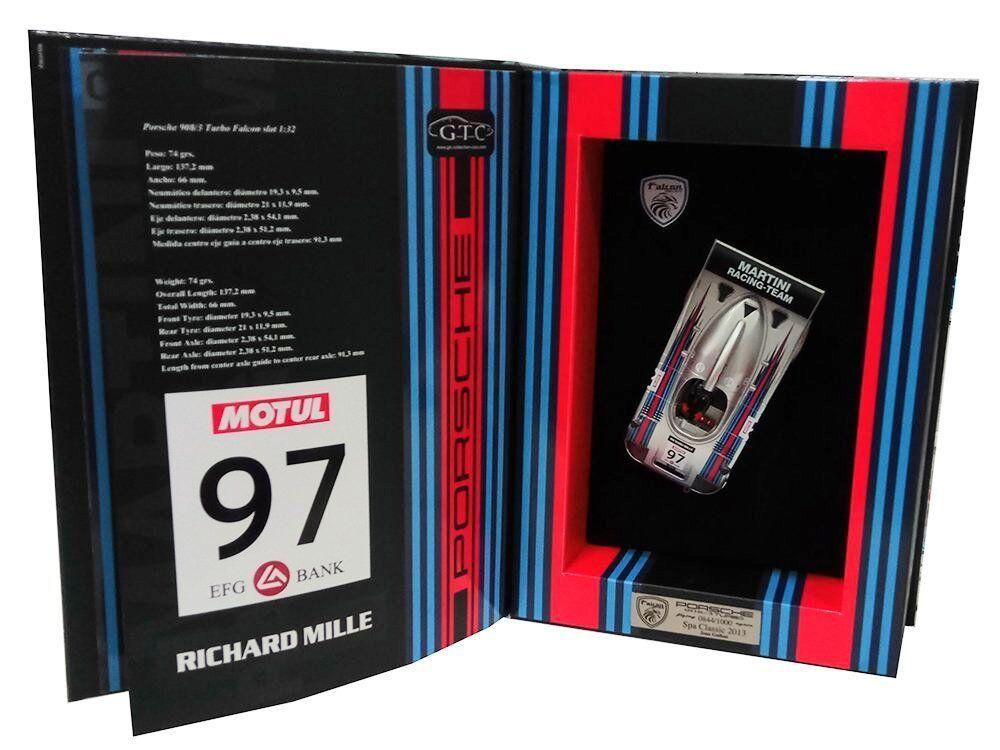 Falcon Slot Cars Porsche 908 3T Martini rif. 09FA1