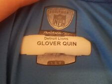 Glover Quin's DETROIT LIONS NFL GEAR mens large REEBOK long sleeve workout shirt