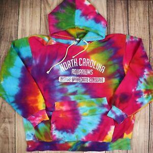 Vintage-Tie-Dye-Hoodie-North-Carolina-Aquarium-Music-Festival-Hipster-Hoodie