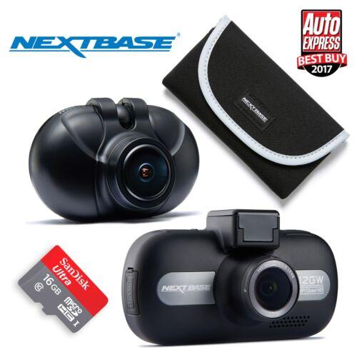 Nextbase 512GW Dash Cam 3 Screen Car Recorder Night Vision GPS Wi-Fi BUNDLES!