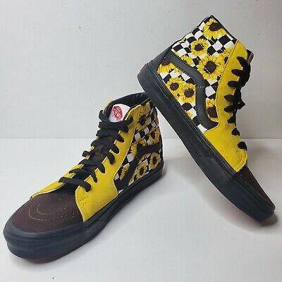 Vans SK8-HI Skate Shoes Sunflower