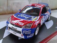 #1 2002 Ford Focus WRC Cangas del Narcea Jaio Cruz Diecast Rally Car 1/43 IXO