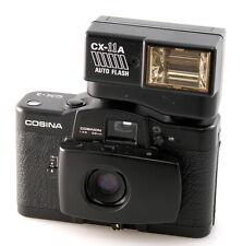 Cosina CX-1 and CX-11A Flash. 35mm Compact. Original Lomo LCA
