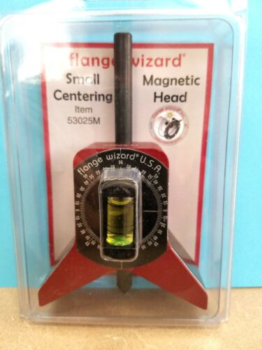 """FLANGE WIZARD 53025M CENTERING HEAD TOOL FOR  1 1//2-10/"""" PIPE NEW"""