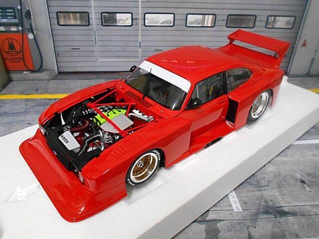 FORD Capri Zakspeed Gr.5 Turbo DRM 1979 red rot plain 1/504 Minichamps SP ! 1:18
