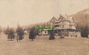 Postcard-RPPC-House-Lake-Placid-NY-New-York-1914