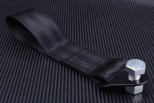 Sangle de remorquage noir crochet anneau JDM Anneau en Alliage d/'aluminium Kit Rally Drift Course turbo