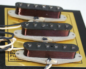 For-Stratocaster-039-75-Vintage-Pickups-Set-Hand-Wound-by-Migas-Touch-Strat-1