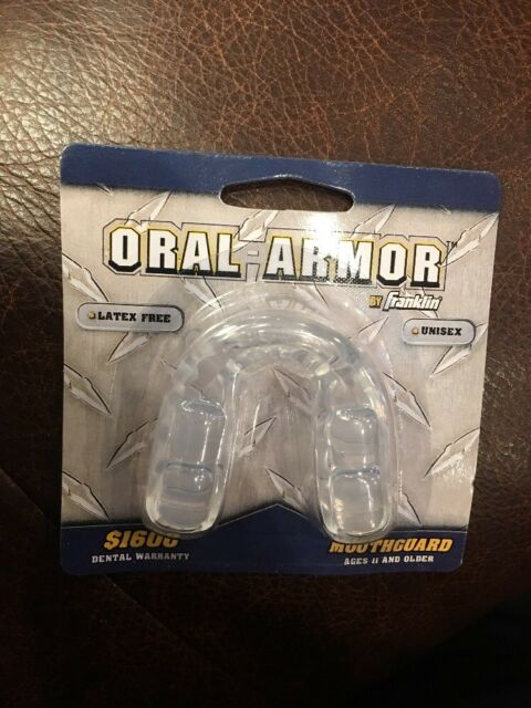 Franklin Sports #5341P6 Mouth Guard Clear 11 And Older