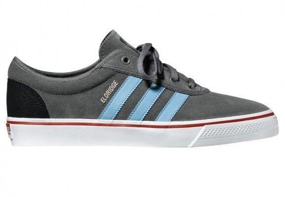 Adidas ADI EASE Mid Cinder Gray Black Blue Red Skate G65350 (203) Men's Shoes