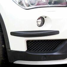 Carbon Fiber Pattern Front Rear Bumper Corner Protection For Mitsubishi Us Ship