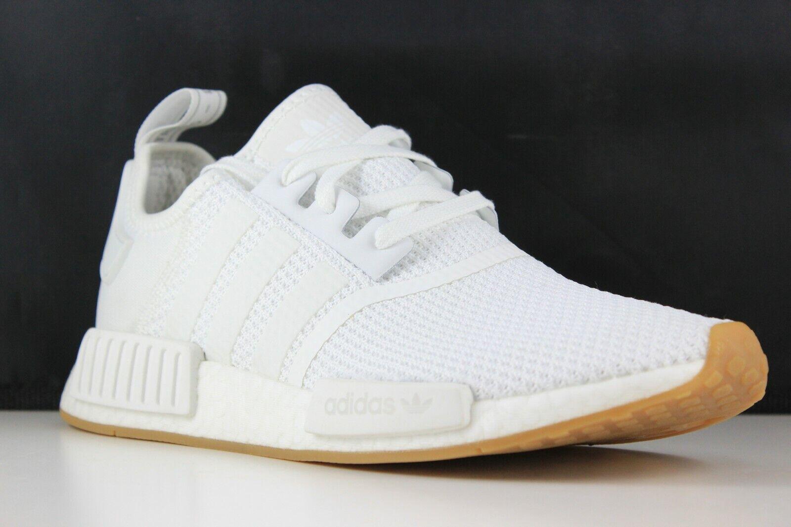 Adidas NMD_R1 Size 10 Mens White Gum D96635