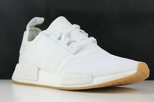 the best attitude 3cae5 2ed9f Details about Adidas NMD_R1 Size 11 Mens White/Gum D96635