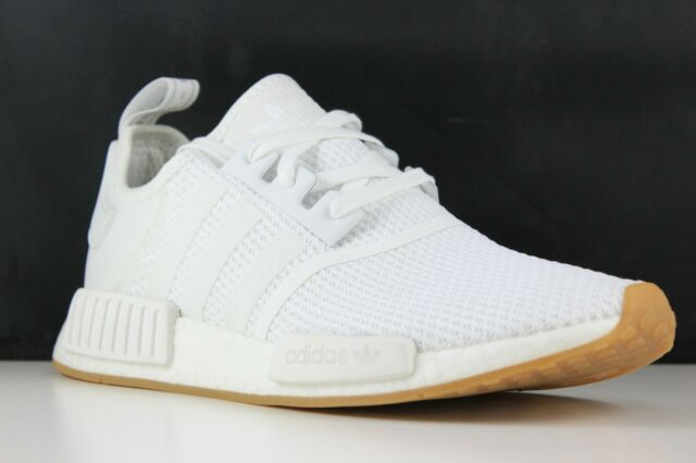 3f207a47d adidas NMD R1 Size 11 Mens White gum D96635 for sale online