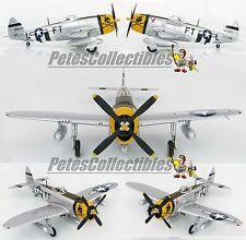 Hobby Master HA8411 P-47D Thunderbolt Glenn Eagleston USAAF 354th FG, 353rd FS