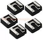 5 x Flash Hot Shoe Mount Adapter to 1/4