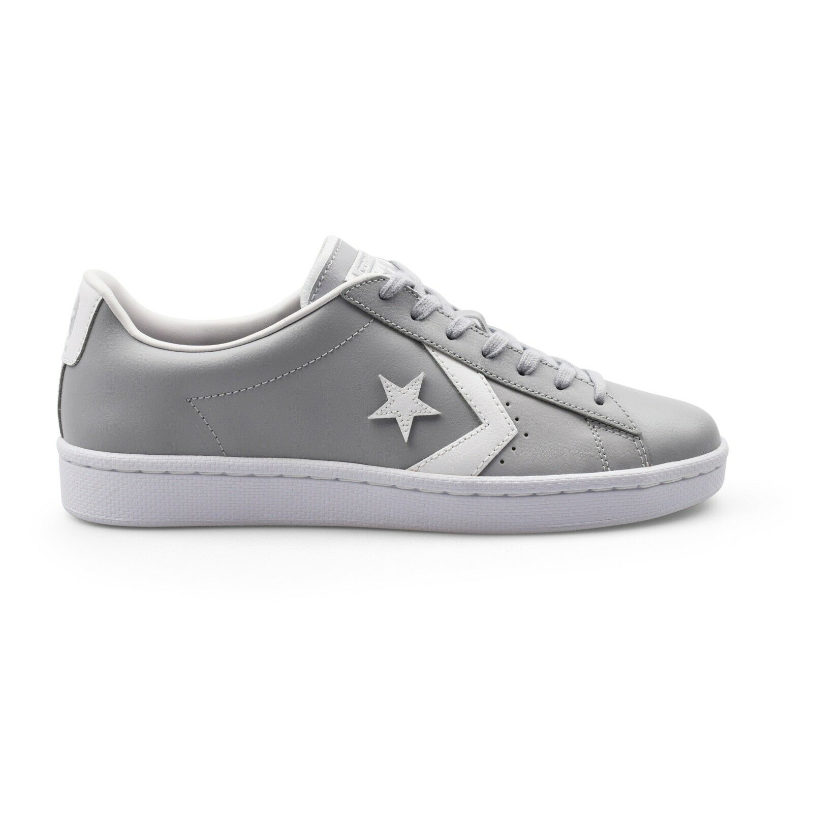 Converse PL-76 John Harvard Pro Leather Ox Gris hommes Trainers New 158089C